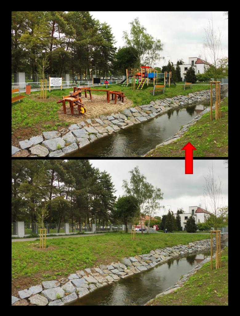 Vodní dětské hřiště Ruzyně