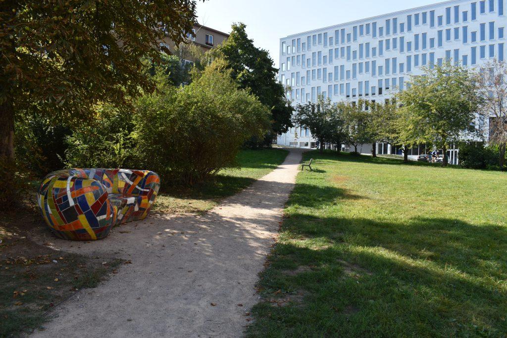 Revitalizace parku u Hotelu Diplomat