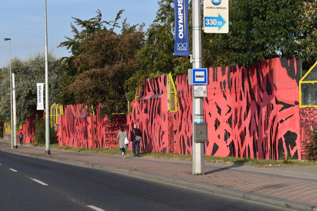 Revitalizace protihlukové zdi Evropská