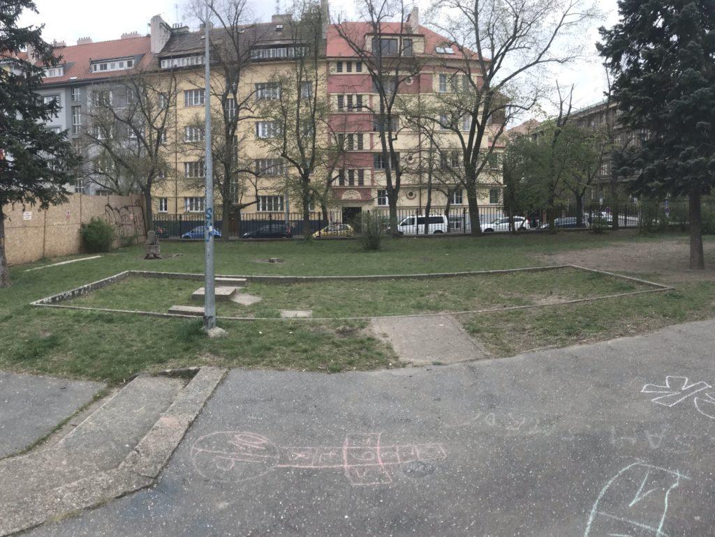 Venkovní ping pong v parku Willyho Brandta