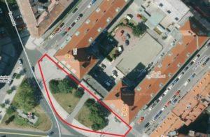 Revitalizace zeleně před základními školami na náměstí Svobody