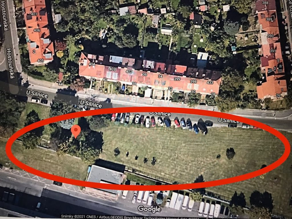 Revitalizace prostoru v ulici U silnice, Praha - Liboc/Ruzyně