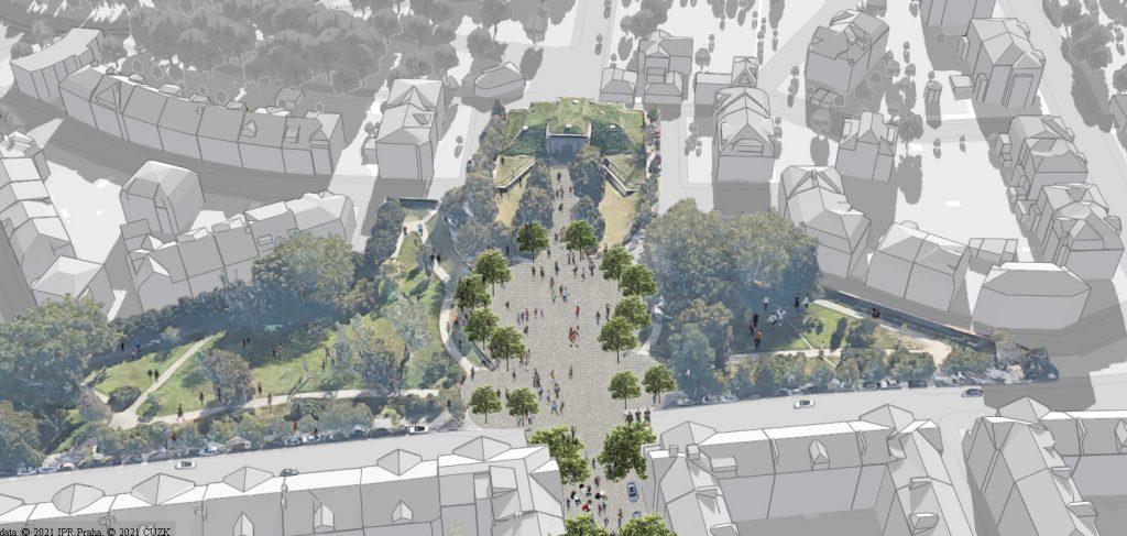 Revitalizace ulice K Brusce